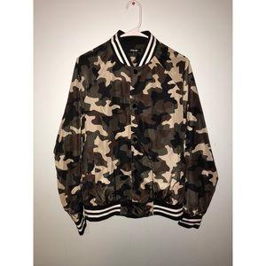 Other - Camo bomber jacket